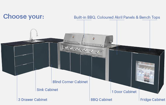 The Elementa Outdoor Kitchen