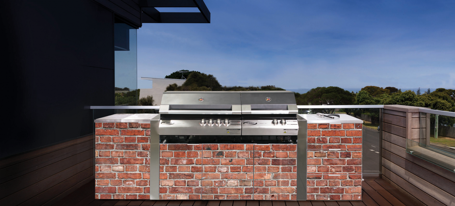 Outdoor Kitchens Alfresco Brick